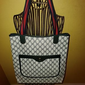 GUCCI Sherry Collection Shopper Tote